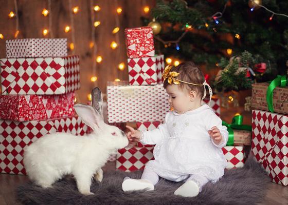 Детские новогодние фотосессии в Калининграде, фотограф Юлия Жданова