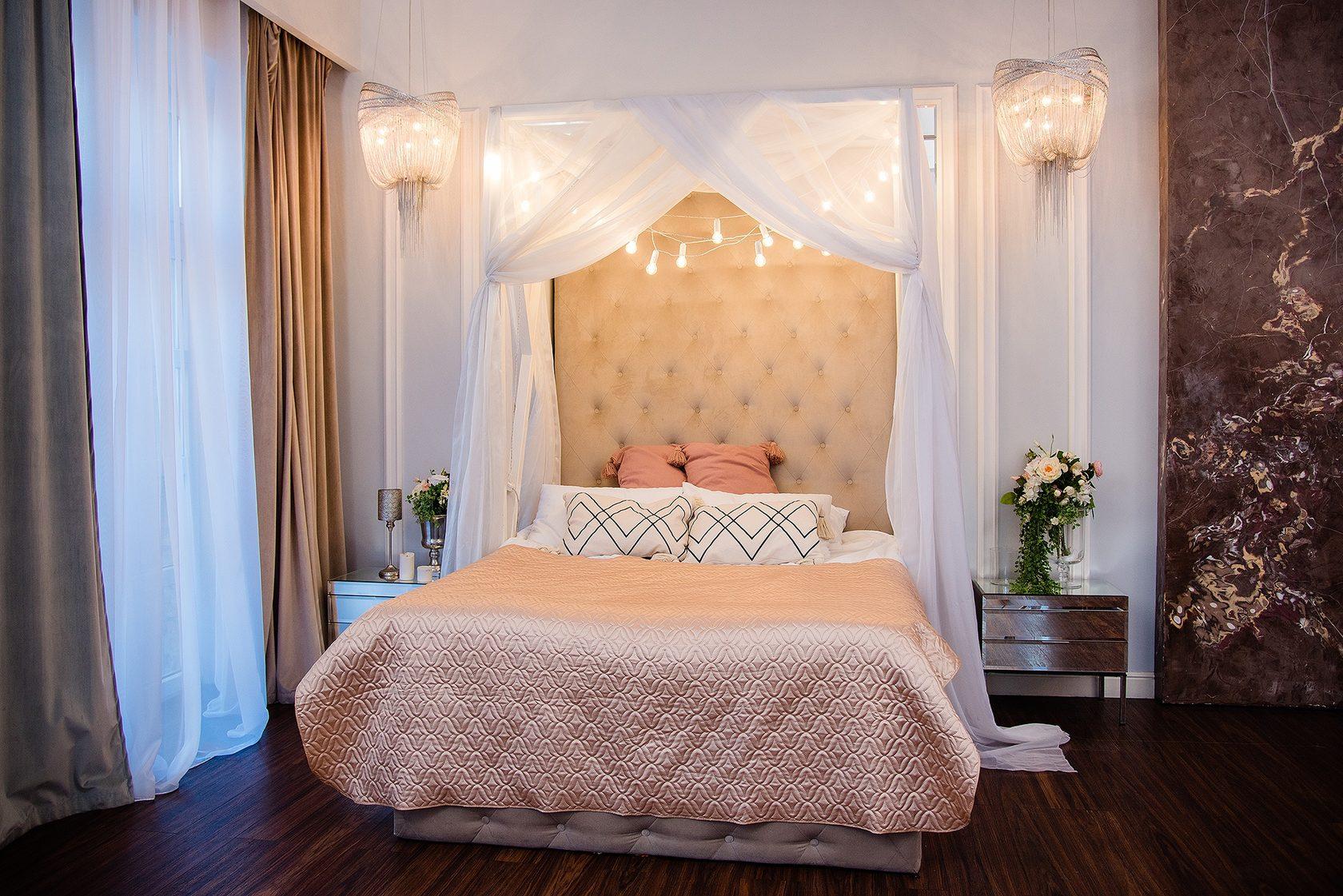 Фотостудия в спб с шикарной кроватью