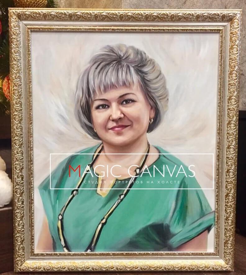 помогут портрет маслом по фото брянске на заказ запрос кавычки