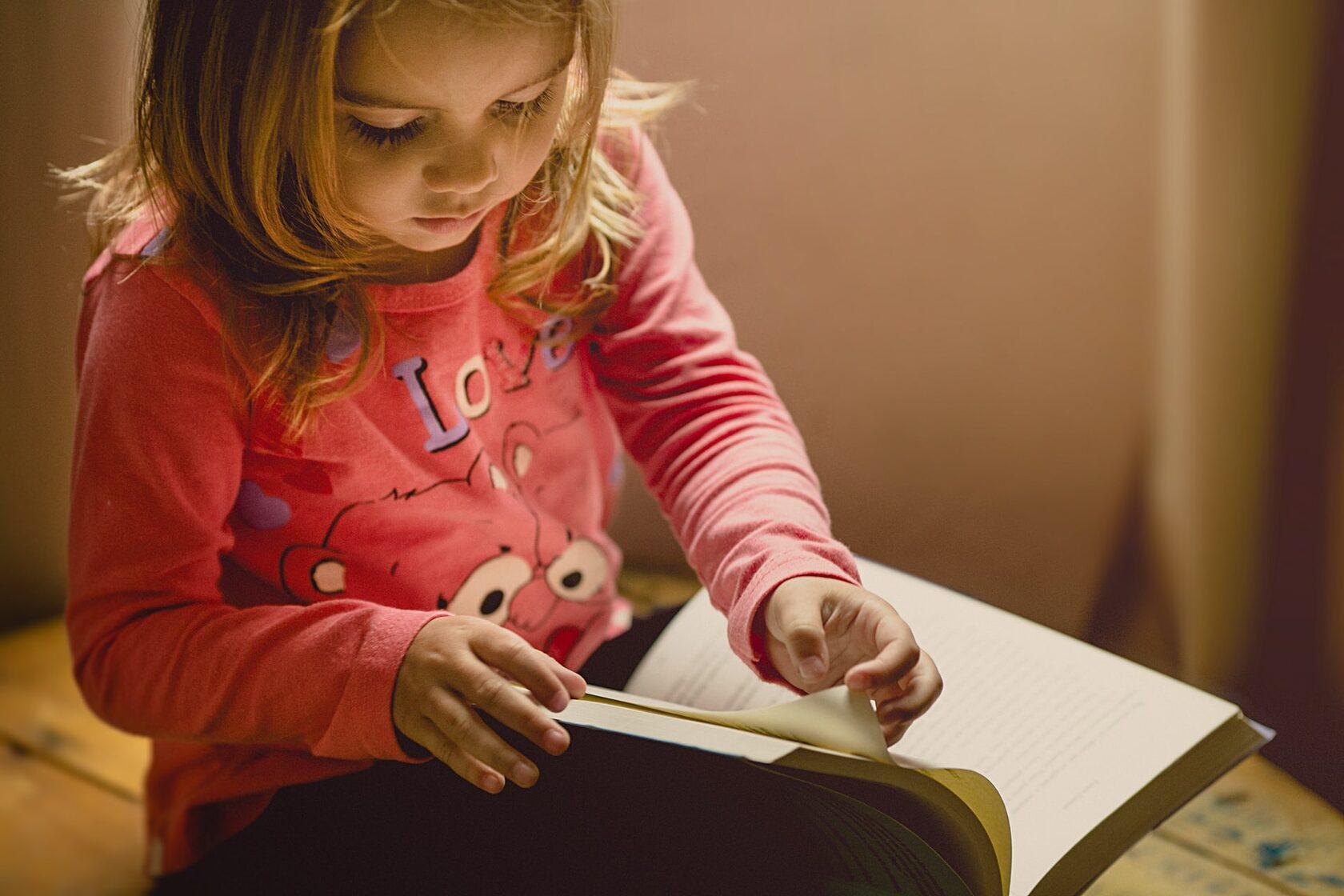 Как привить любовь к чтению. Семейный блог