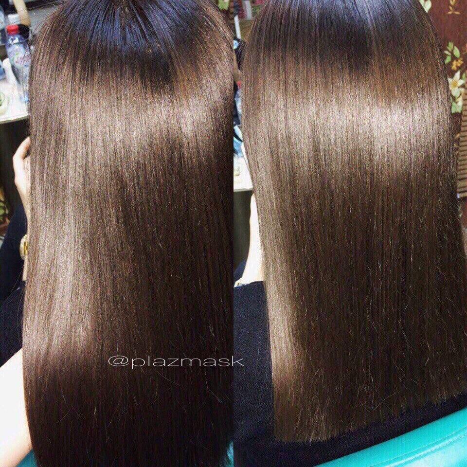 Стрижка или обработка секущихся кончиков + ботокс для волос