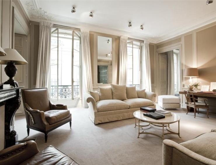Парижский стиль в интерьере