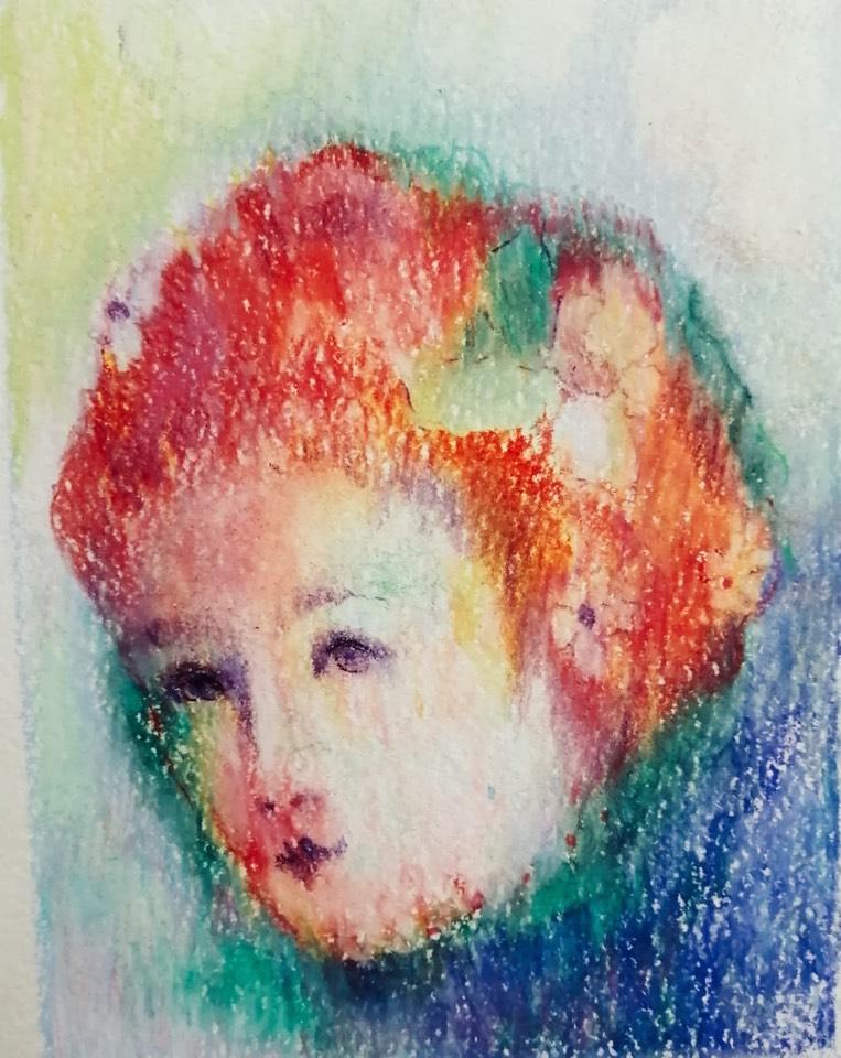 Макарова Ольга / тема «Неведомый мир» Осень / масляная пастель