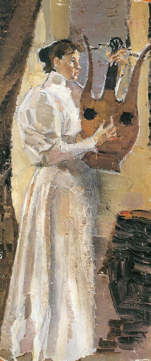 Портрет М. П. Третьяковой.