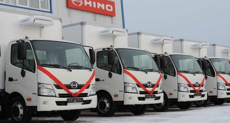 Январские результаты продаж позволили японскому автопроизводителю Hino вытеснить из числа участников топ-10 рынка голландский DAF (фото: «Хино Моторс Сэйлс»)