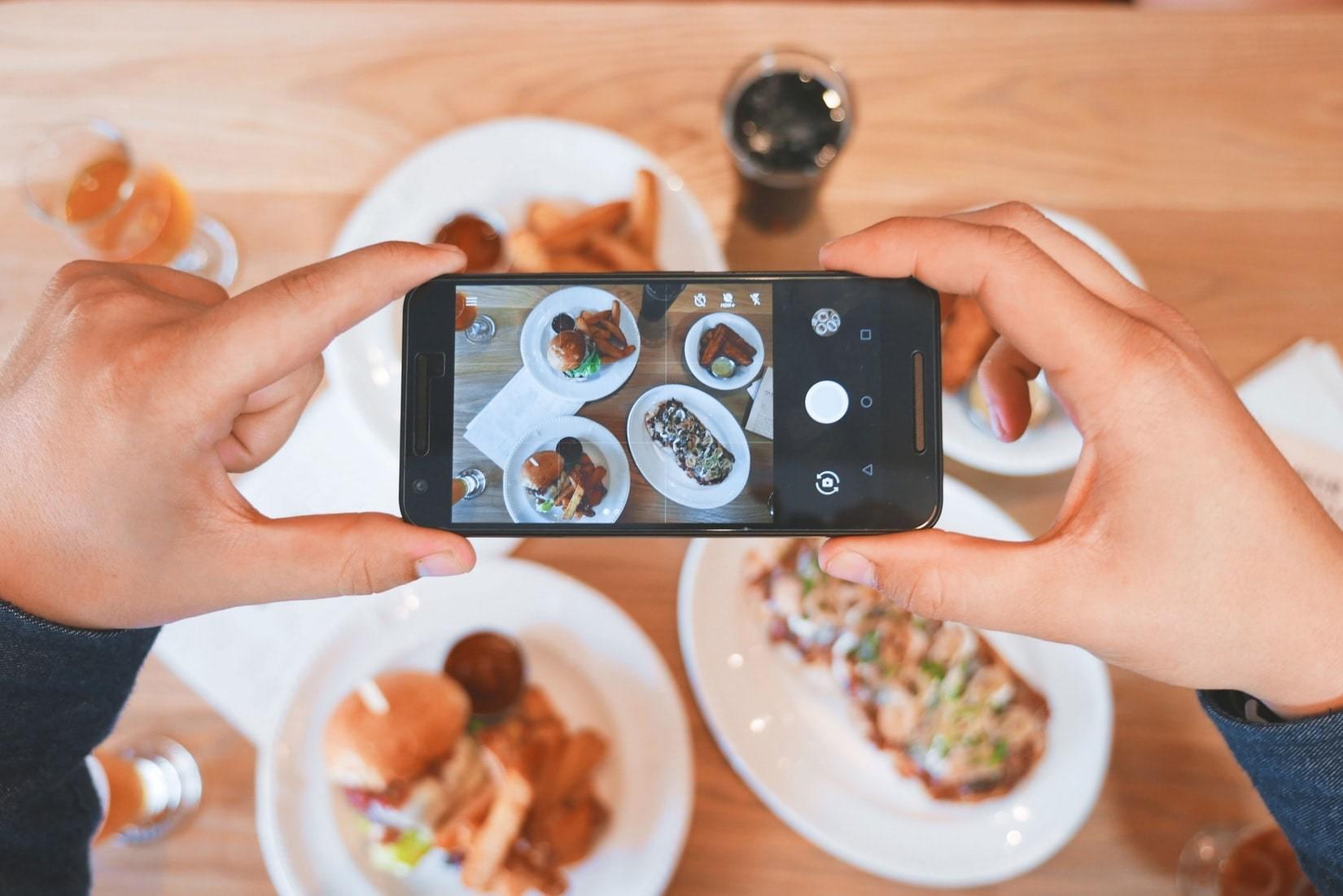 Фото еды в ресторане