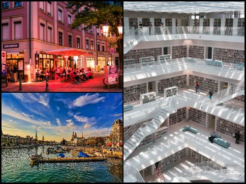 Мюнхен и Цюрих в октябре