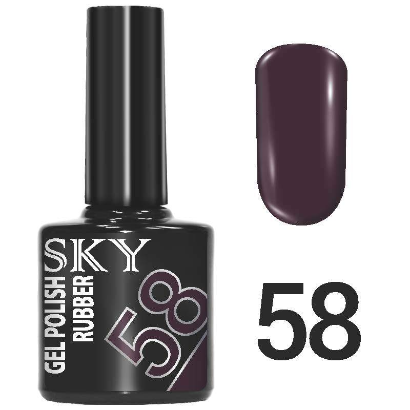 Sky gel №58