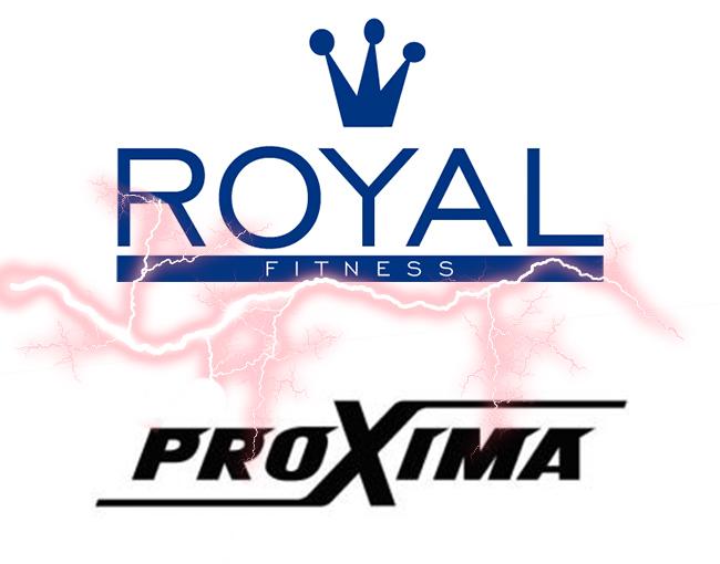 На склад поступили тренажеры для дома Royal Fitness, Proxima