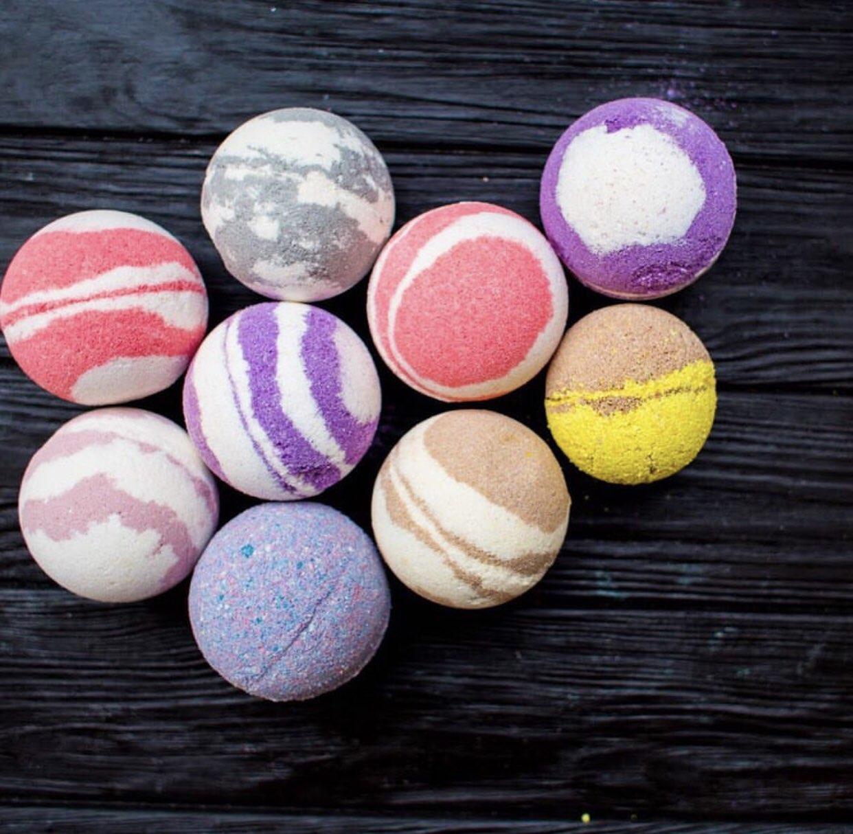 Бурлящие шарики для ванн (вес 100-120 г.)
