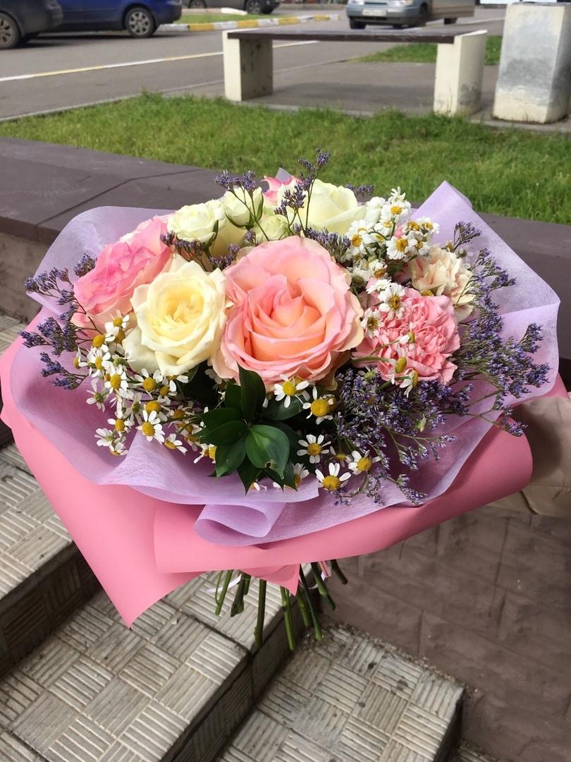 Цветы, букет цветов купить киров круглосуточно