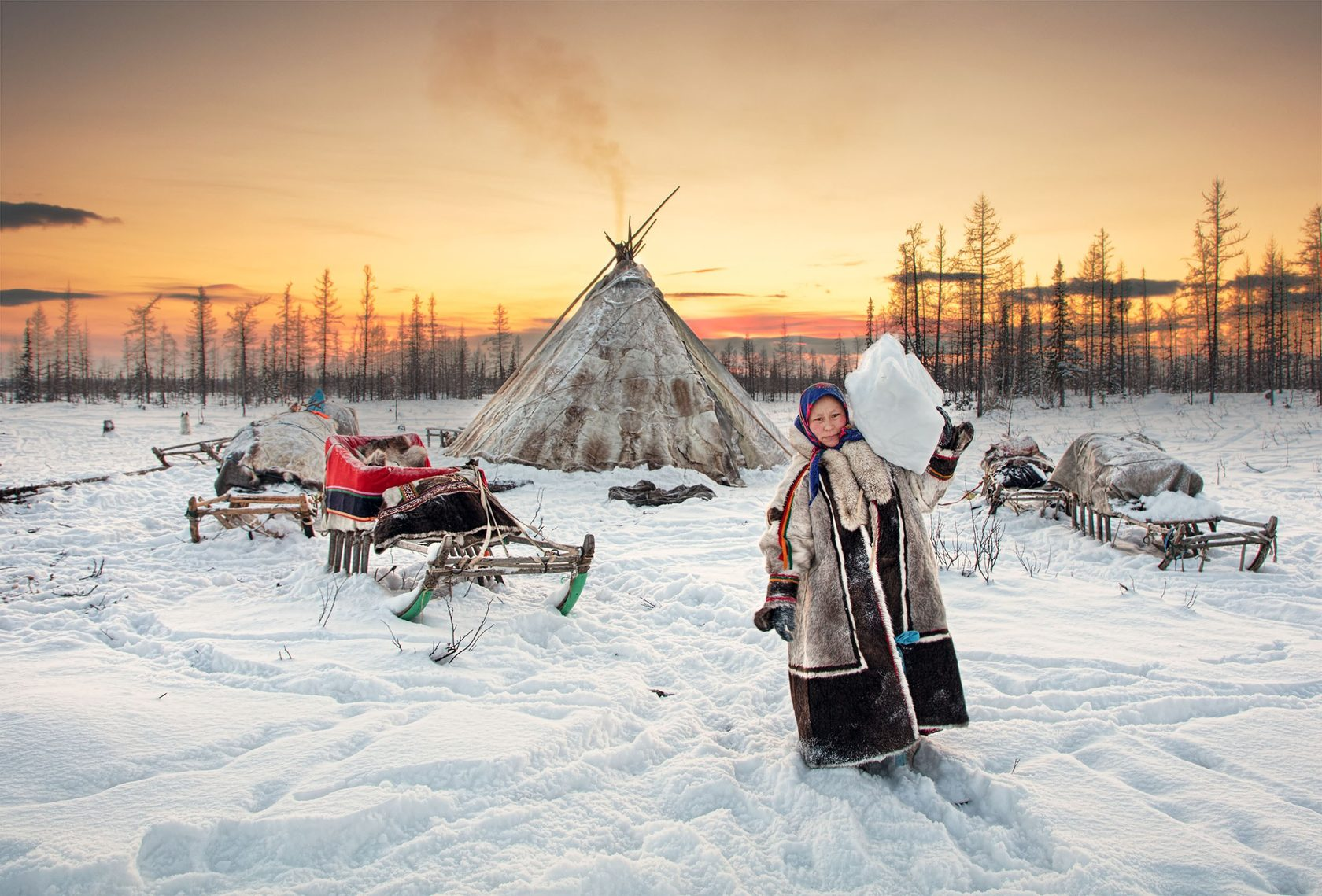 фото и жизнь людей крайнего севера домов