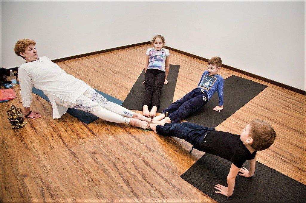 Хатха йога для детей