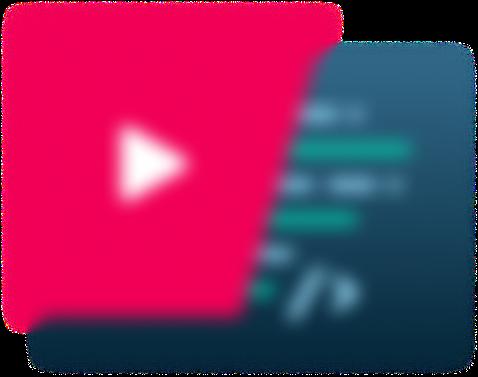 Teleport media mediaplayer overlay