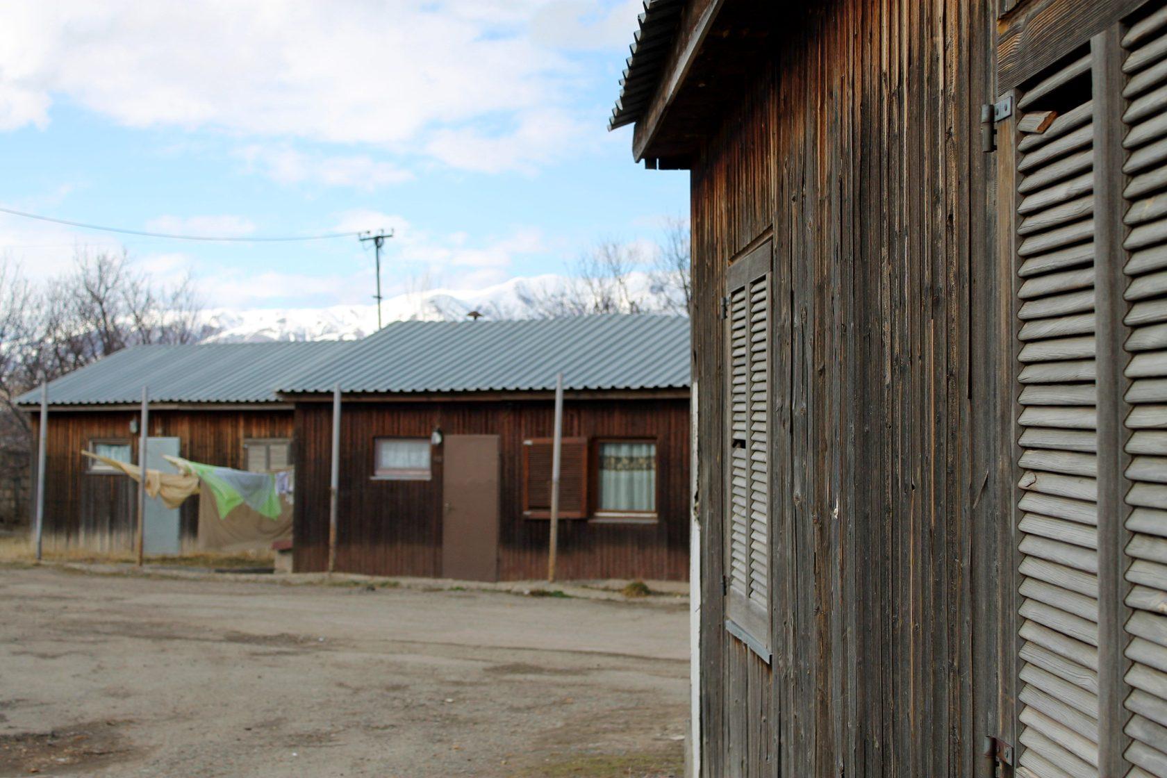 Սպիտակ քաղաքի Գերմանական թաղամասի տնակները