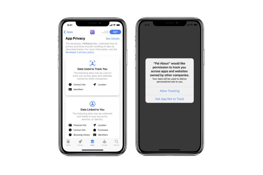Конфиденциальность данных пользователей на ios в 2021
