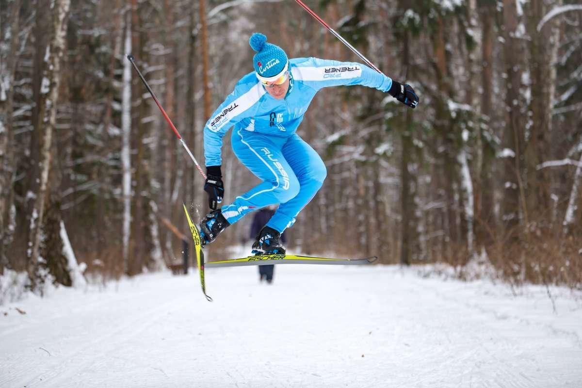 Сооснователь сети студий персональных тренировок PRO TRENER в прыжке на лыжах