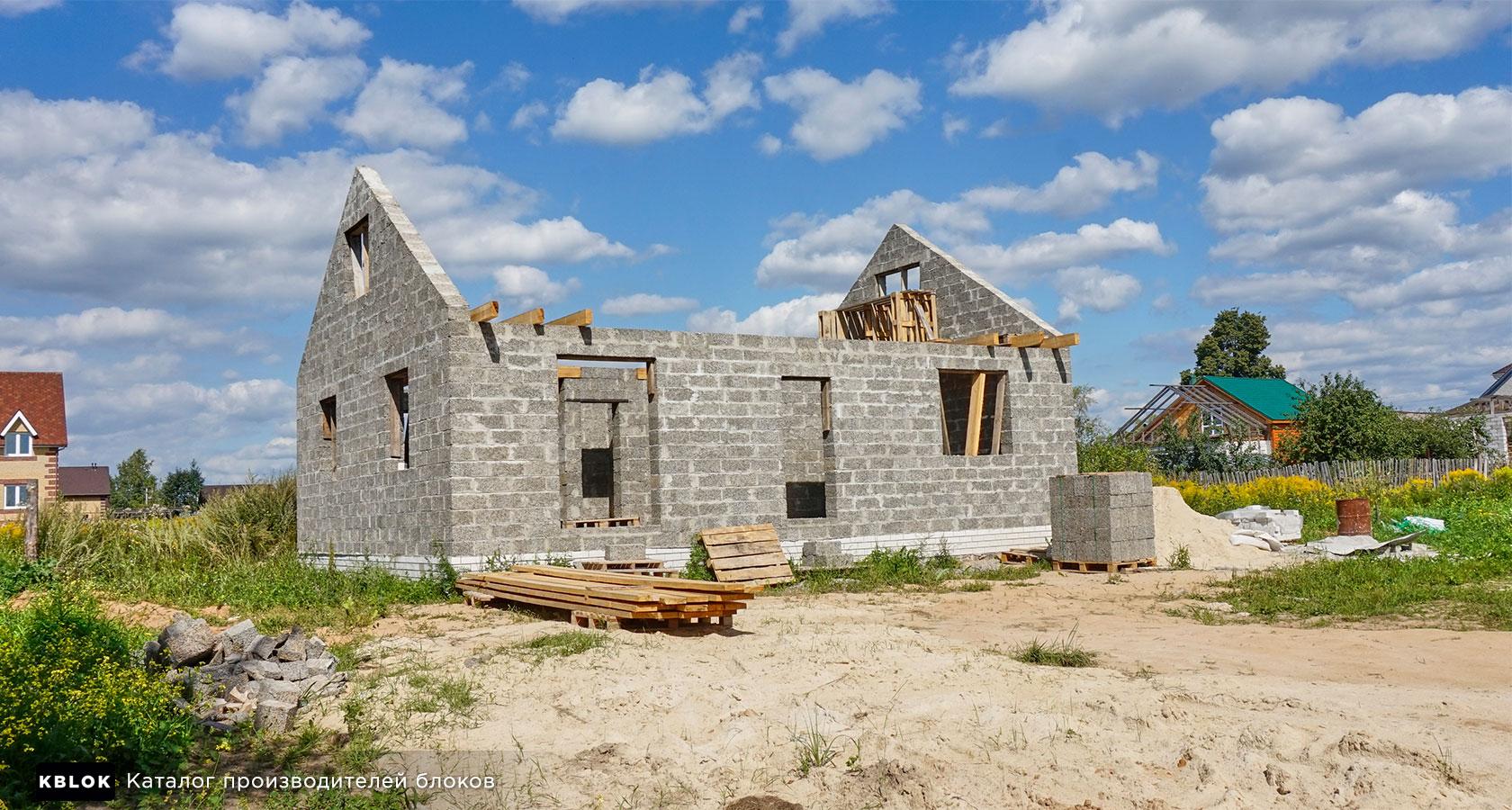 Строим арболитовый дом