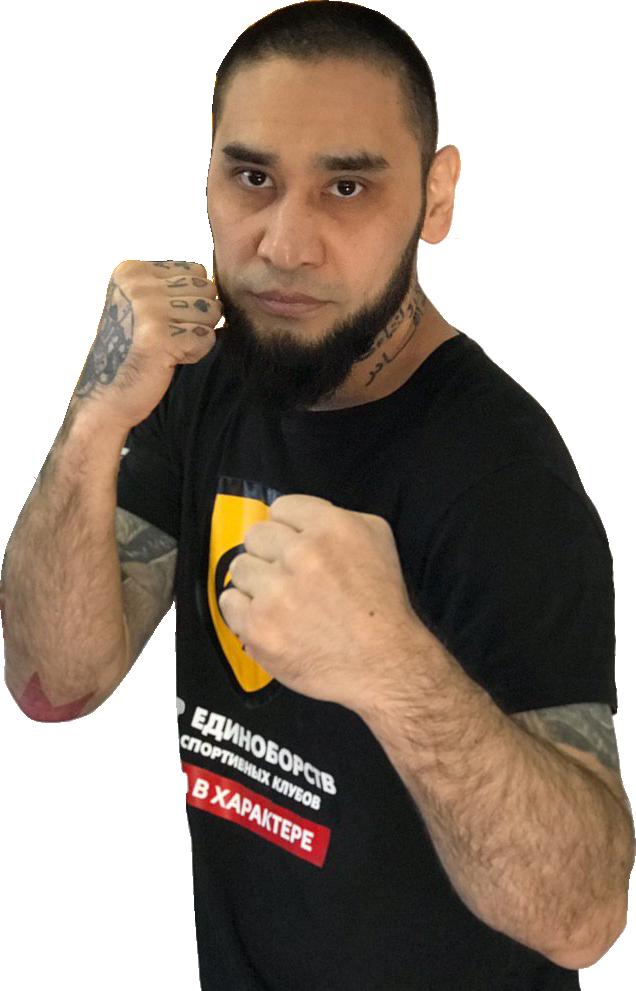 Азико Азизов - тренер по кикбоксингу, боксу
