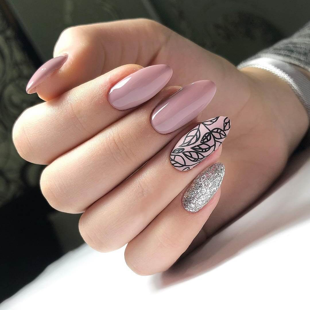 Тренды маникюра гель-лаком 2020-2021 – модный дизайн ногтей гель ... | 600x600