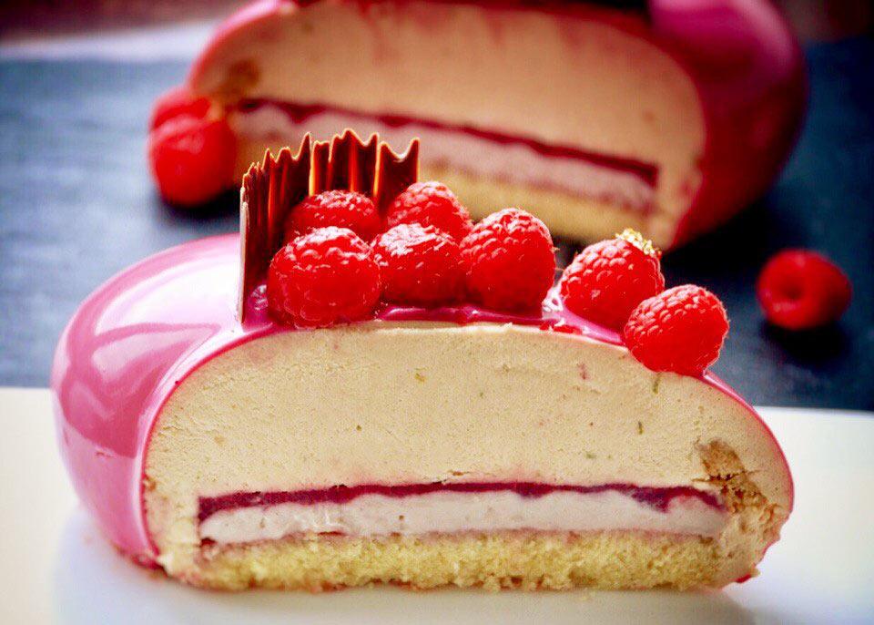 Десерт FRAMBOISE LITCHI — Малина ЛИЧИ
