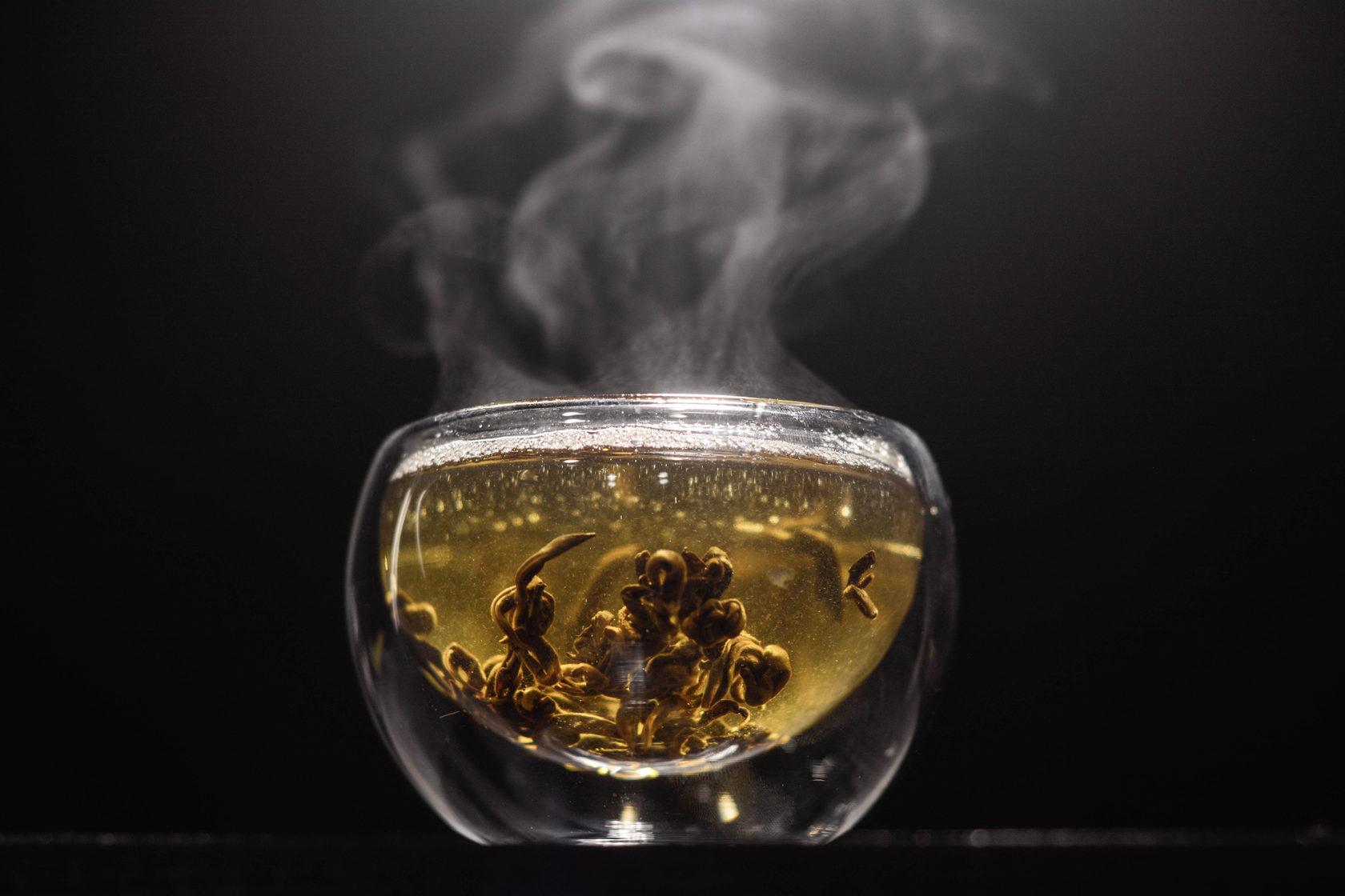 красный чай температура заваривания