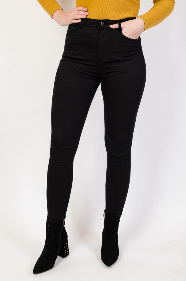 0bc3be84e3f Джинсы узкие skinny fit comfort HEPYEK черные большие размеры