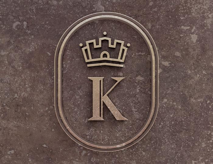 Пример логотипа - кафе «Премиум камень»