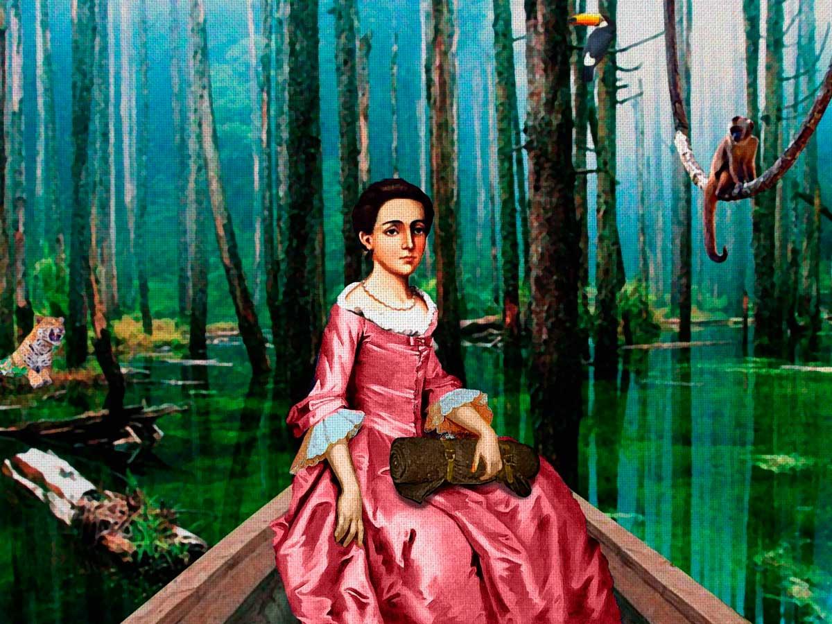 Изабель Годин де Одоне - храбрая женщина, преодолевшая 3000 миль Амазонки и Анд, чтобы спасти мужа