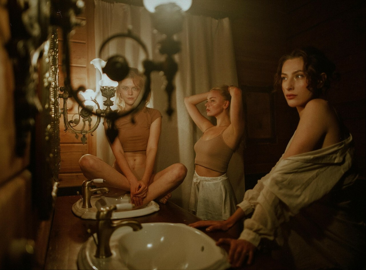 «Девушки». Фотограф Джоанна Мариак