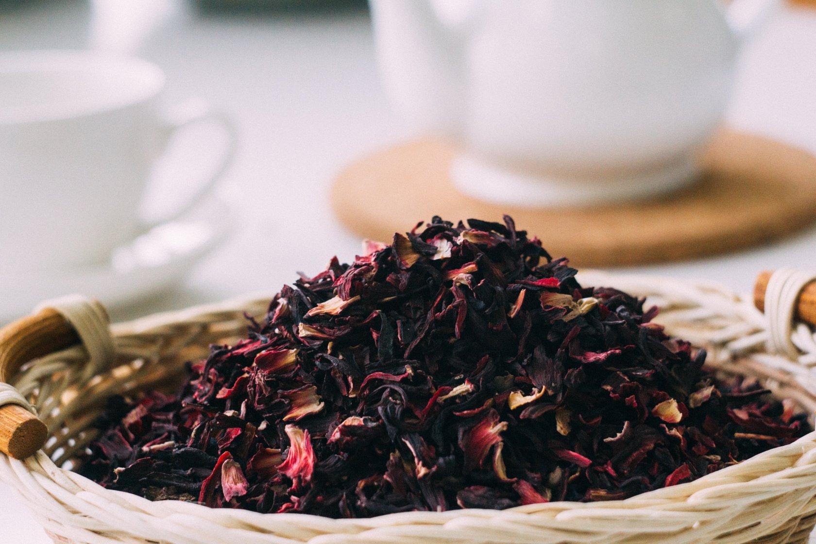синий чай из цветов клитория