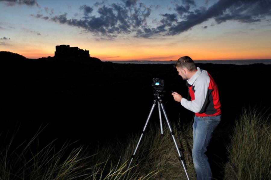 Штатив при пейзажной фотосъемке может оказаться весьма полезным