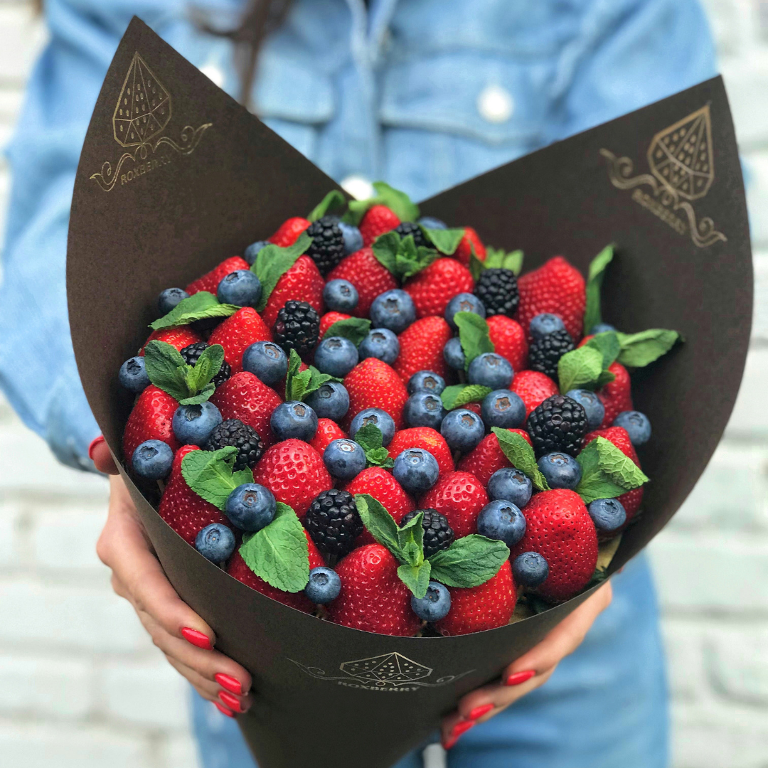 главное, букеты ягоды в шоколаде виды