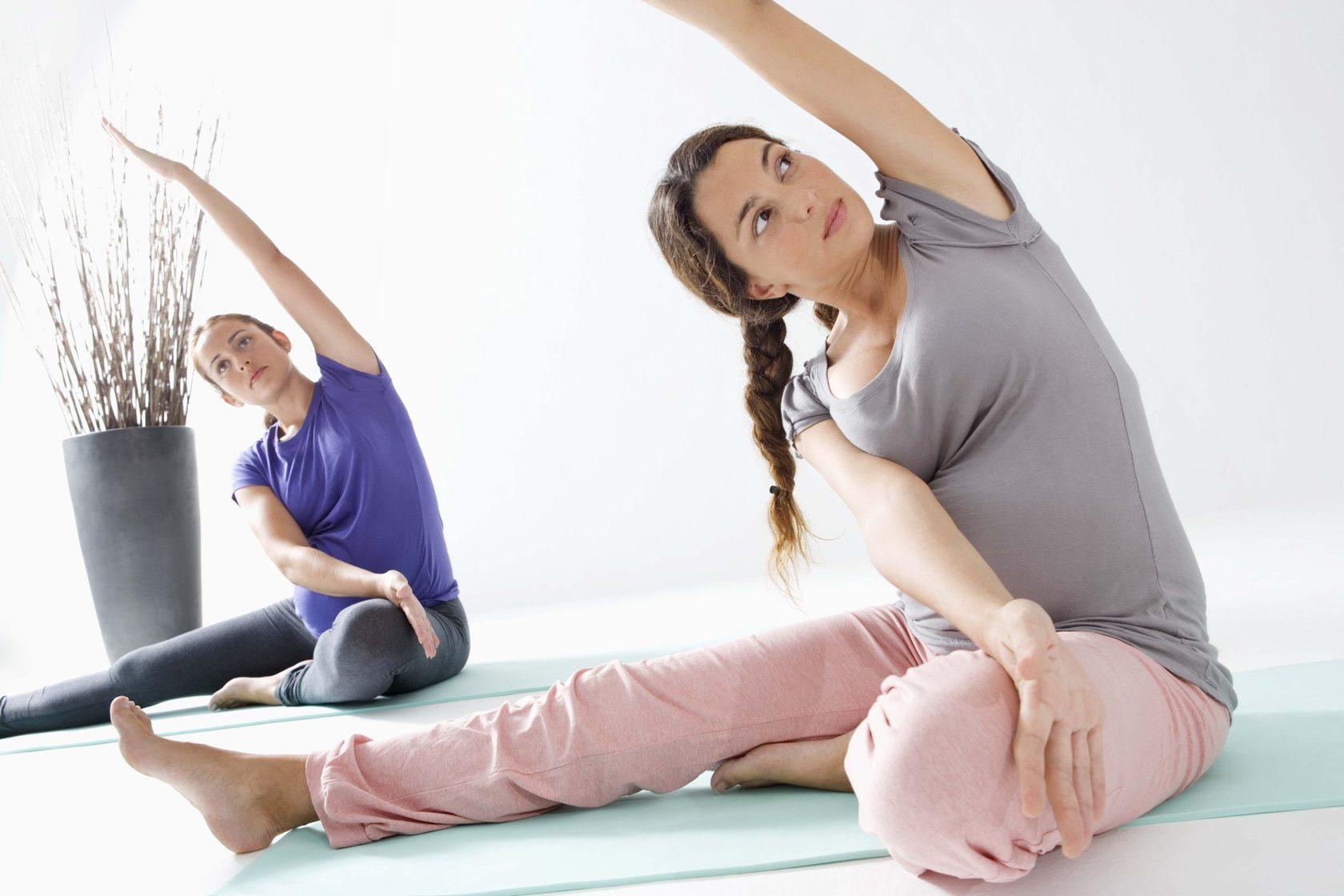 Обучение йоге для беременных