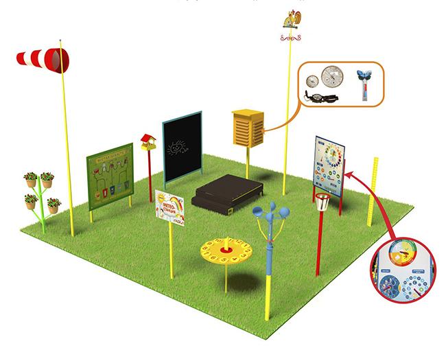 Игровые площадки для детского сада