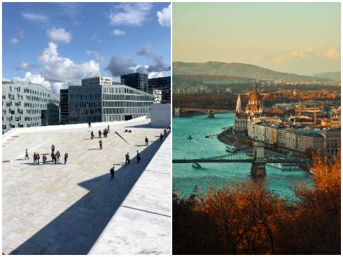 Осло, Будапешт в октябре