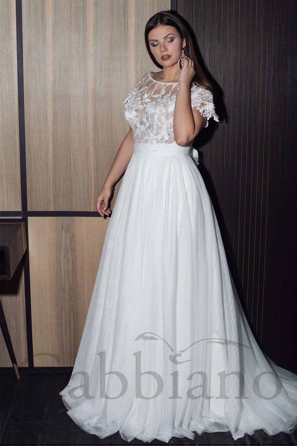 45f3aa50c16 1 фото. Ponti. Шифоновое свадебное платье ...