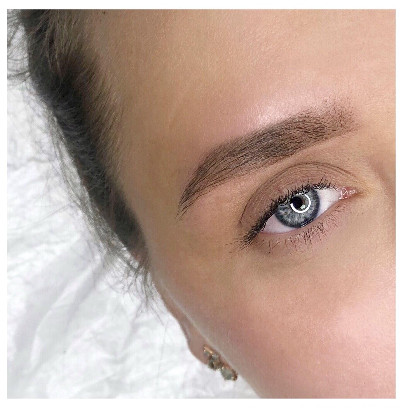 Картинки формы бровей для перманентного макияжа