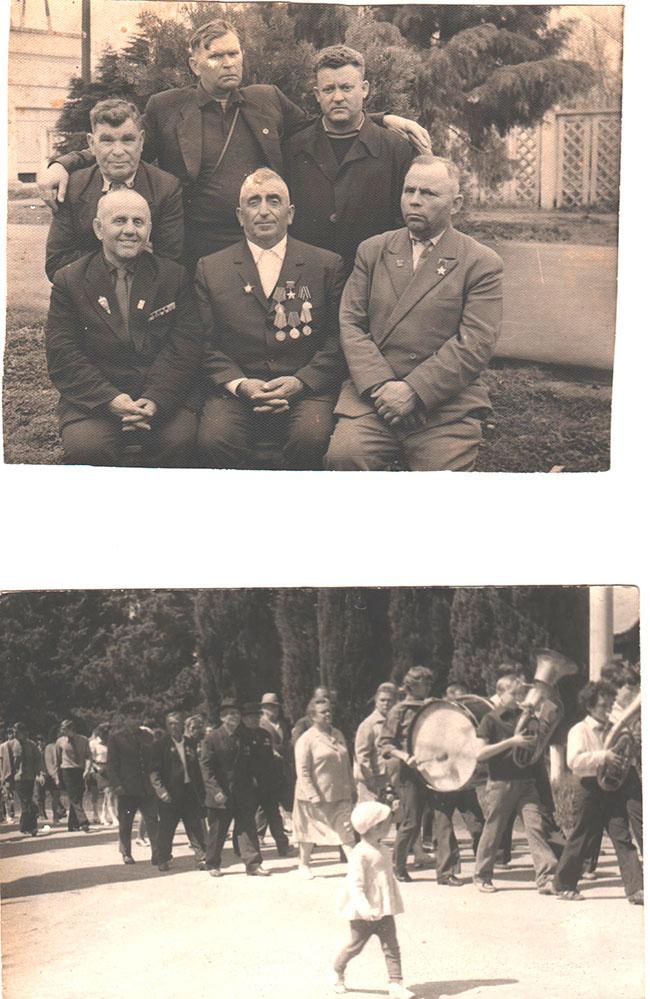 Встреча с ветеранами ВОВ