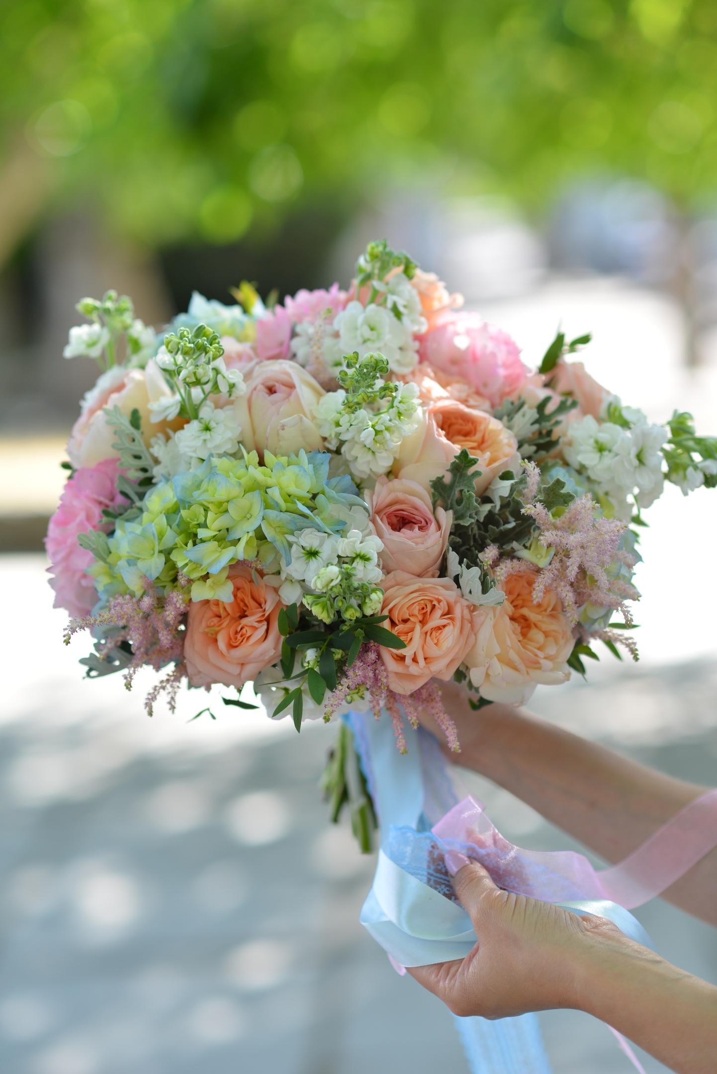Букет невесты евпатория