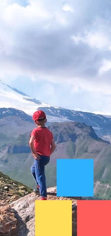 Горы, дети, поход, воспитание