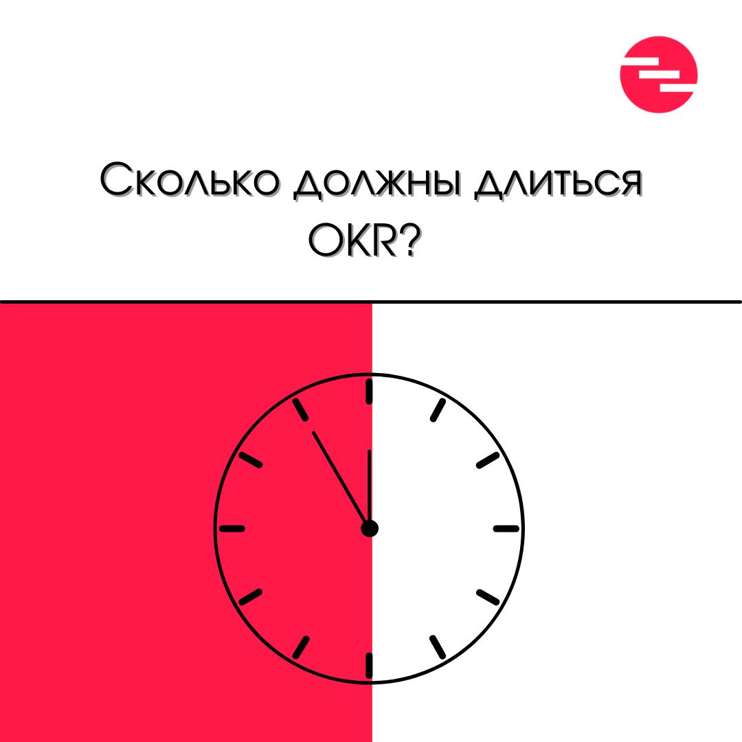 Сколько должны длиться OKR?