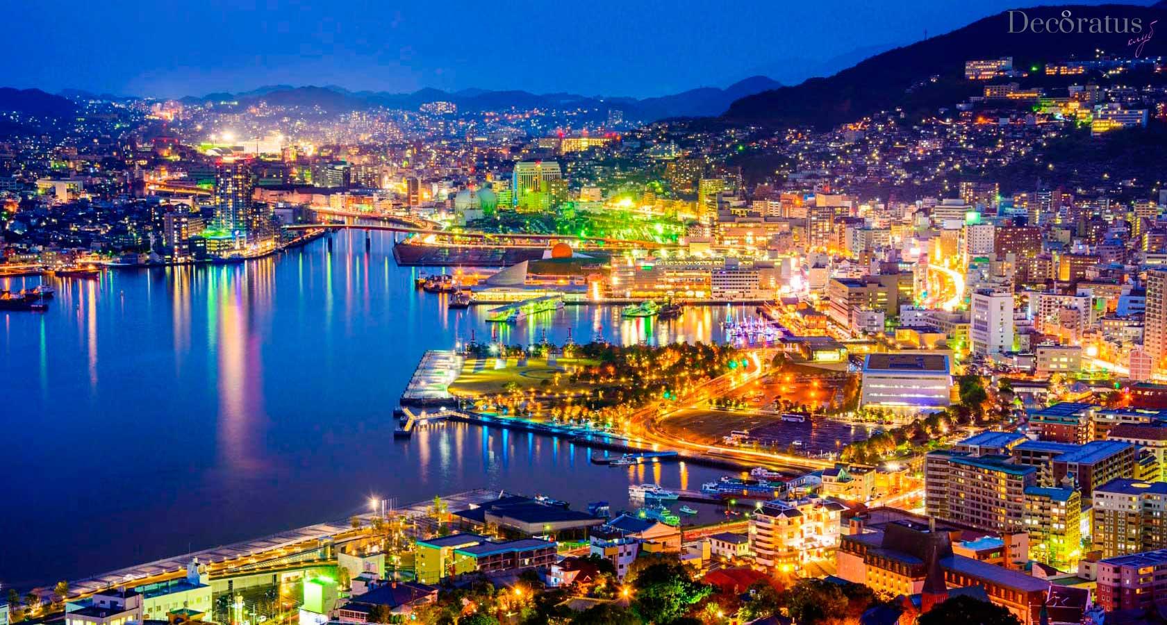город порт нагасаки япония