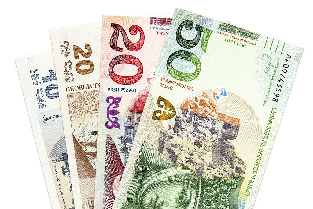 Валюта в Грузии