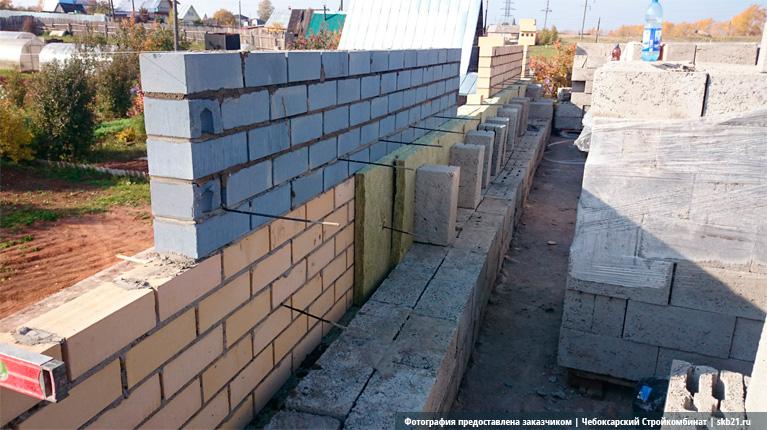 Однослойная стена керамзитобетон штукатурка стен по газобетону цементным раствором