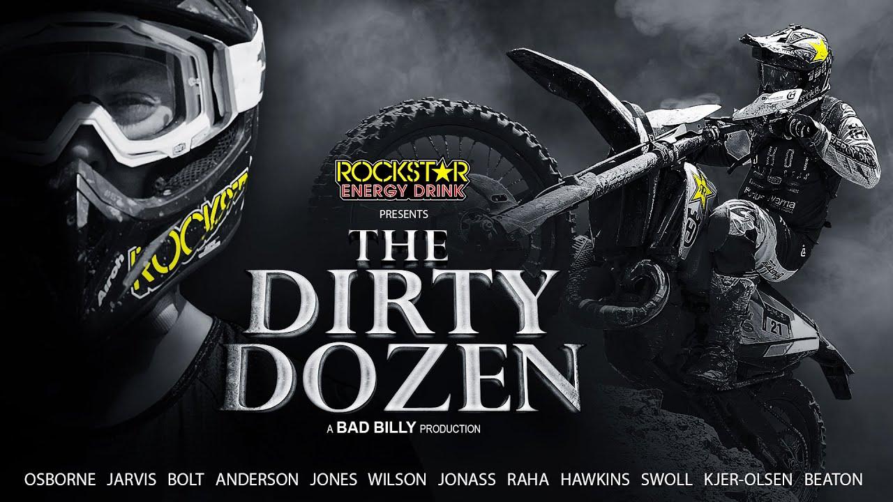 Фильм «The Dirty Dozen» с участием гонщиков Rockstar Energy Husqvarna выйдет 15 декабря