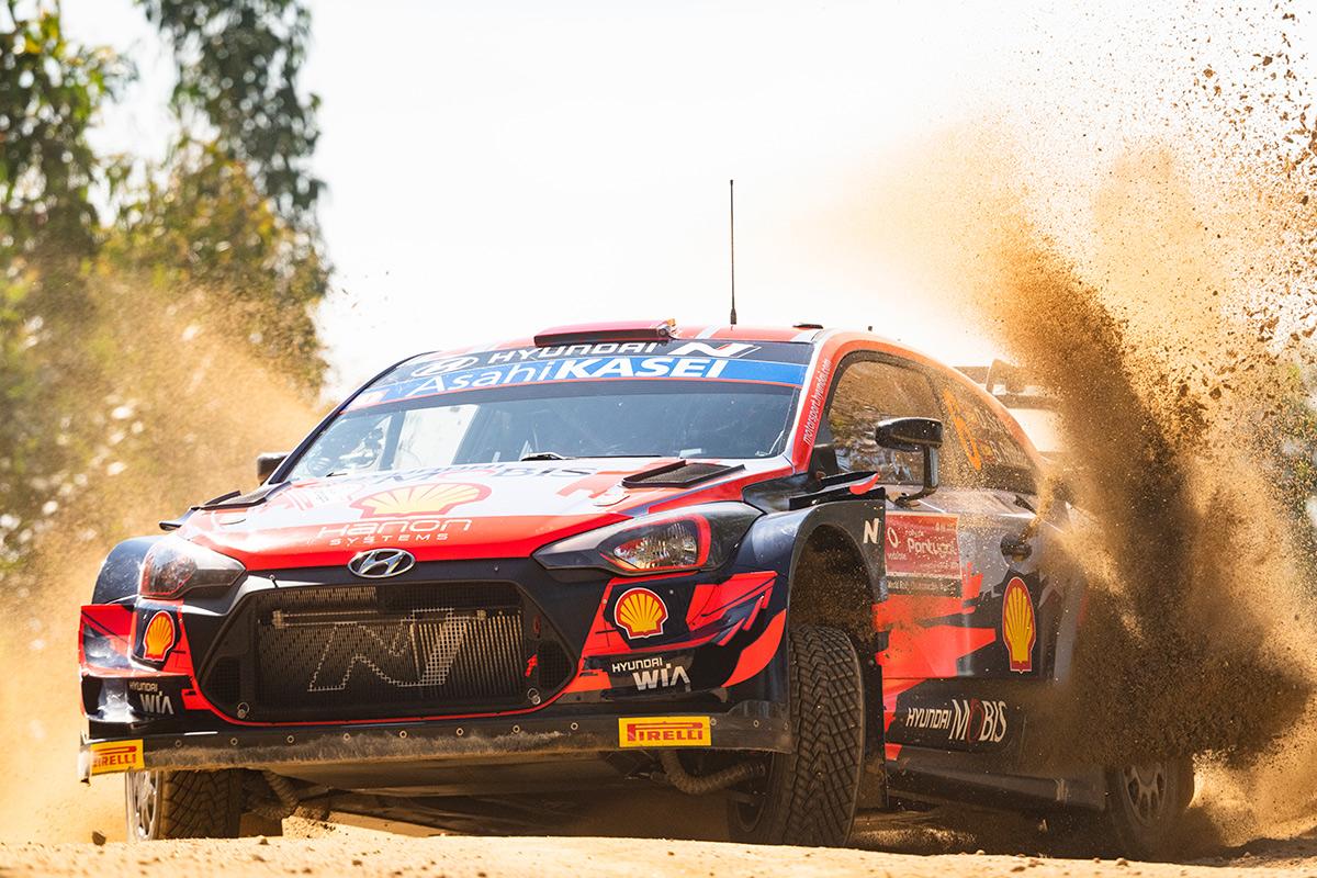 Дани Сордо и Борха Росада, Hyundai i20 Coupe WRC, ралли Португалия 2021