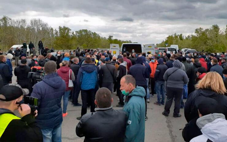 Фермеры Херсонщины митингуют - фото