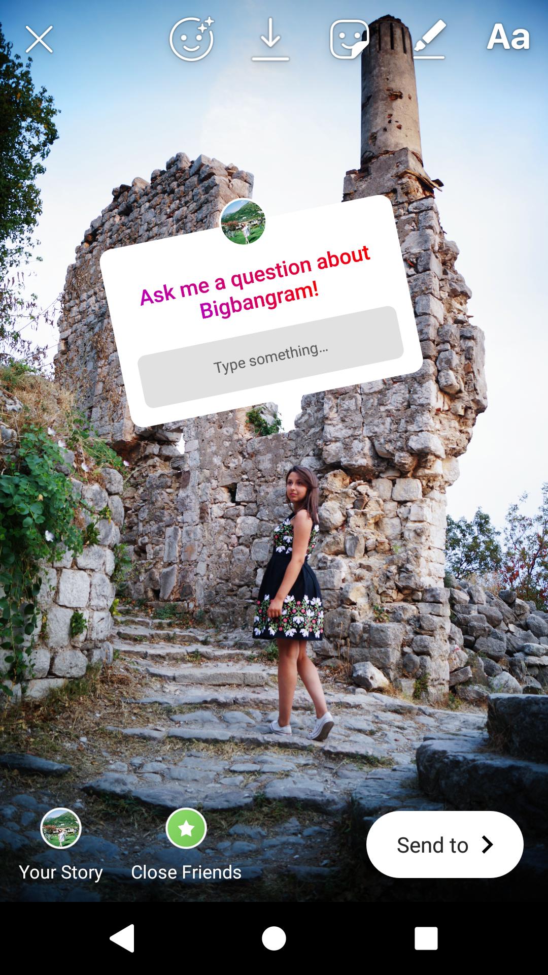 Question about bigbangram