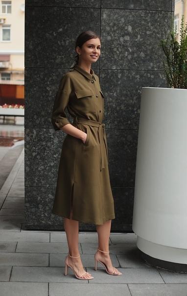 платье-рубашка для офиса, купить платье-рубашку в спб, платье от российских дизайнеров